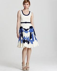 Milly Dress - Chrystine Sunburst  This would be so great for Christine if it weren't $262.50