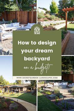 Backyard Pavilion, Backyard Patio Designs, Small Backyard Landscaping, Landscaping Design, Backyard Ideas, Landscape Design Program, Garden Landscape Design, Garden Totems, Diy Porch
