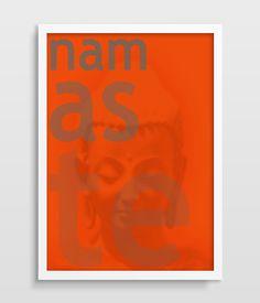 Cheap Buddha namaste buddismo moderna grafici tipografia stampa artistica anniversario compleanno regalo di nozze decorazione di arte della parete arancione pittura di arte, Compro Qualità Pittura e calligrafia direttamente da fornitori della Cina:        Formato della pittura          40x60 cm (16x24 pollici)            Pittura mostrando          No frame  solo tela