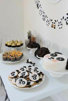 Déco anniversaire pour l'enfant qui aime les pandas