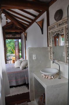 casa Barra Grande/Maraú  - banheiro casa gourmet