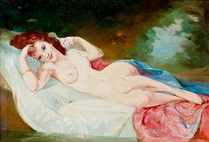 Maria Szantho - Reclining nude #20