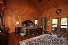 Southland Log Home Photos & Pictures | Longleaf Lodge 021