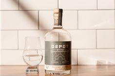 The award winning Silver Corn Whiskey | The Depot Craft Brewery & Distillery