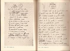 Giacomo Leopardi's L'infinito was corrected innumerable times and resulted to multiple revisions by other writers.