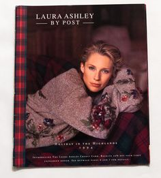 RARE VINTAGE US LAURA ASHLEY BY POST Holiday 1994 Fashion Catalogue 60pp