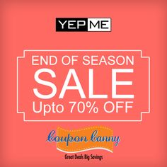 Fresh #fashion #Sale : Upto 70% OFF at #Yepme! Grab the best deal : http://www.couponcanny.in/yepme-coupons/