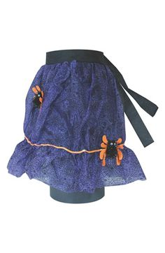 MELROSE GIFTS Spider Web Halloween Apron available at #Nordstrom