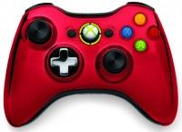 Red Xbox 360 controller