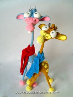 Giraffe George Amigurumi : Pin by A Juhl on Crochet Pinterest Amigurumi, Pattern ...