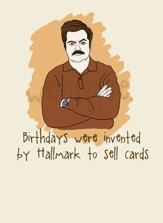 Ron Swanson is impeccable TVs Movie and Humor