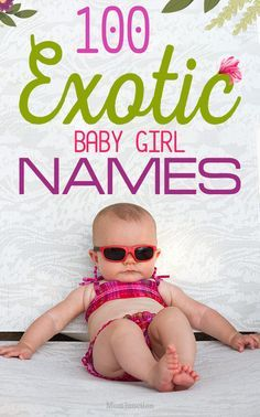 100 Truly Exotic Girl Names For Your Baby : MomJunction brings you a list of 100 cute and exotic girl names. Exotic names have an appeal of their own and make the person stand out. Italian Girl Names, Baby Girl Names Spanish, Baby Girl Names Unique, Names Baby, Unique Names, Cuban Girl Names, B Names For Girls, Girl Flower Names, Hispanic Baby Names Girls