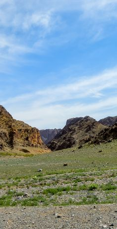 Gobi Desert 001 - - - - - Part of Asia's largest desert - the South Gobi was once an inland sea where life flourished 80 million years ago. #mongolia