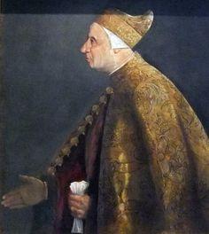 Doge Niccolò Marcello, ca. 1516-1517 (Titian) (ca. 1488-1576) Pinacoteca Vaticana, Roma Sala X