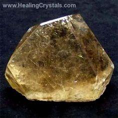Polished Crystals - Rutilated Smokey Quartz Free-Forms (Brazil)- Rutilated Quartz - Healing Crystals