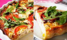 Tällä viikolla vietetään valtakunnallista hävikkiviikkoa. Hävikkiviikon aikana on tarkoitus nostaa entistä enemmän esille ruokahävikin vä... Vegetable Pizza, Feta, Sandwiches, Baking, Vegetables, Cocktail, Party, Essen, Bakken
