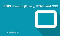 Learn to create a custom popup box with drag support using jquery, html and css