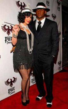 20's Gangsta & Flapper girl