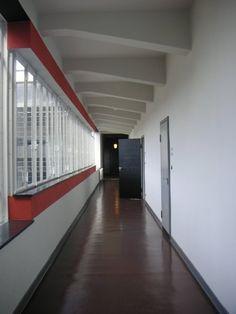 Hallway, Bauhaus, Dessau, Germany