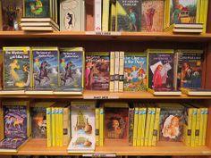 Nancy Drew Mysteries at Powell's Books in Portland, Oregon
