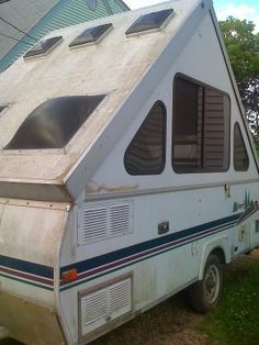 A Liner Pop Up Camper I Ve Never Seen This Type Before