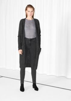& Other Stories | Long Mohair-Blend Cardigan