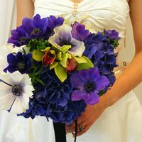 purples and blues - wedding - zest floral and event design  www.zestfloral.com