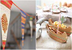 Indianer Geburtstag Party Ideen Essen Spiele Deko