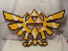 Perler Triforce by smellblind.deviantart.com on @deviantART