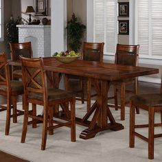 1288 Counter Height Table by Holland House