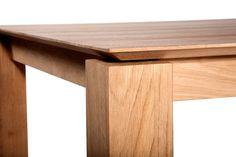 Ethnicraft Oak Slice Table 180 x 90 cm - Esstisch Timber Furniture, Solid Wood Furniture, Woodworking Furniture, Rustic Furniture, Cool Furniture, Antique Furniture, Furniture Design, Solid Wood Table, Furniture Logo