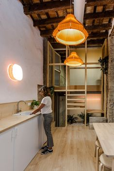 Mad Mouse co-working space captures the spirit of LZF - LZF Lamps Timber Beams, Corporate Style, Smart Kitchen, Coworking Space, Ceiling Beams, Interior Design Studio, Working Area, Creative Studio, Wood Veneer