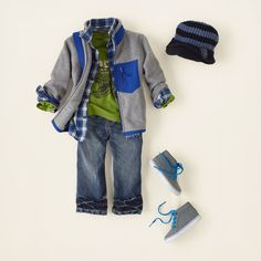 baby boy - outfits - lil' rocker - hit the trail   Children's Clothing   Kids…
