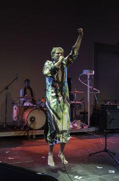 Die Goldenen Zitronen, Concert at Haus der Kunst, 08.10.15, photo Joerg Koopmann
