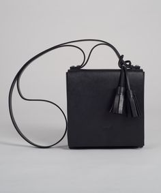 Black MECANO Nº2 by LESS BORE  #handmade #eco #Leather #cowhide #luxury #LessBore #handbag #slowfashion