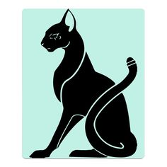Sitting Cat Black Youth Soft Bath Towel White -- Awesome products selected by Anna Churchill