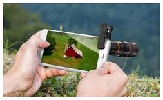 Groupon - Smartphone Magnifying Zoom Telescope Lens. Groupon deal price: $8.99