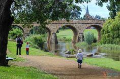 Visit the historic town of Richmond in Tasmania, Australia