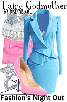 Make sure you are home before midnight! | Fairy Godmother outfit | | Disney Fashion | Disney Fashion Outfits | Disney Outfits | Disney Outfits Ideas | Disneybound Outfits | Cinderella outfit |