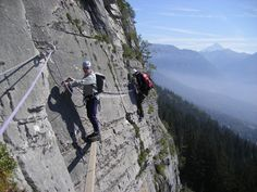 images of via ferrata, italy | Via Ferrata in the Dolomites – image from http://www.chamex.com