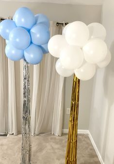 Learn how to create standing balloon topiary decorations! Birthday Balloon Decorations, 2nd Birthday Party Themes, Balloon Centerpieces, Bridal Shower Decorations, Birthday Balloons, 30th Birthday, Balloon Topiary, Balloon Columns, Balloon Arch