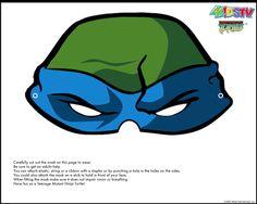 Free NINJA Turtle Printable Masks