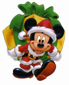 Natal Do Mickey Mouse, Mickey Mouse E Amigos, Mickey E Minnie Mouse, Minnie Mouse Christmas, Mickey Mouse And Friends, Disney Christmas Cards, Christmas Cartoons, Christmas Scenes, Disney Drawings