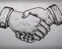 #inspiration  handshake tattoo