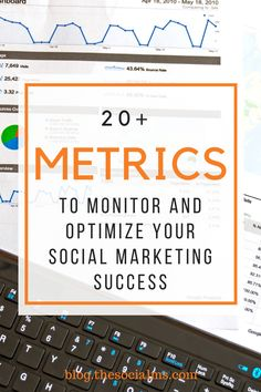 To give you an idea of how many numbers there are to watch and how much to analyze and interpret here is a list of 20 metrics that you should know and consider watching. Social Business, Small Business Marketing, Social Media Marketing, Content Marketing, Digital Marketing, Social Media Analytics, Numbers, Watch, Blogging