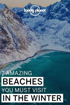 Love winter landscapes? If you're a traveler who loves cold destinations, you won't believe these beaches around the world exist! From snow-covered shores to winter wonderlands on the sea, these are the best beaches to visit in winter if you love snow!