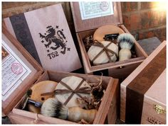 Old-fashioned Shaving Set for grooms men, ushes or father-in-law