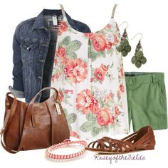 """""""Roses"""" by kaseyofthefields on Polyvore - love that top!"""