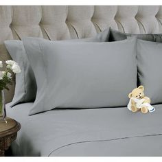 Snuggle 4 Piece Sheet Set Color: High Rise, Size: Queen