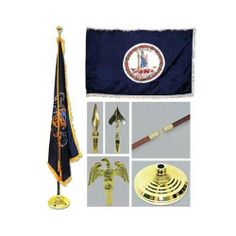 flag pole light kits
